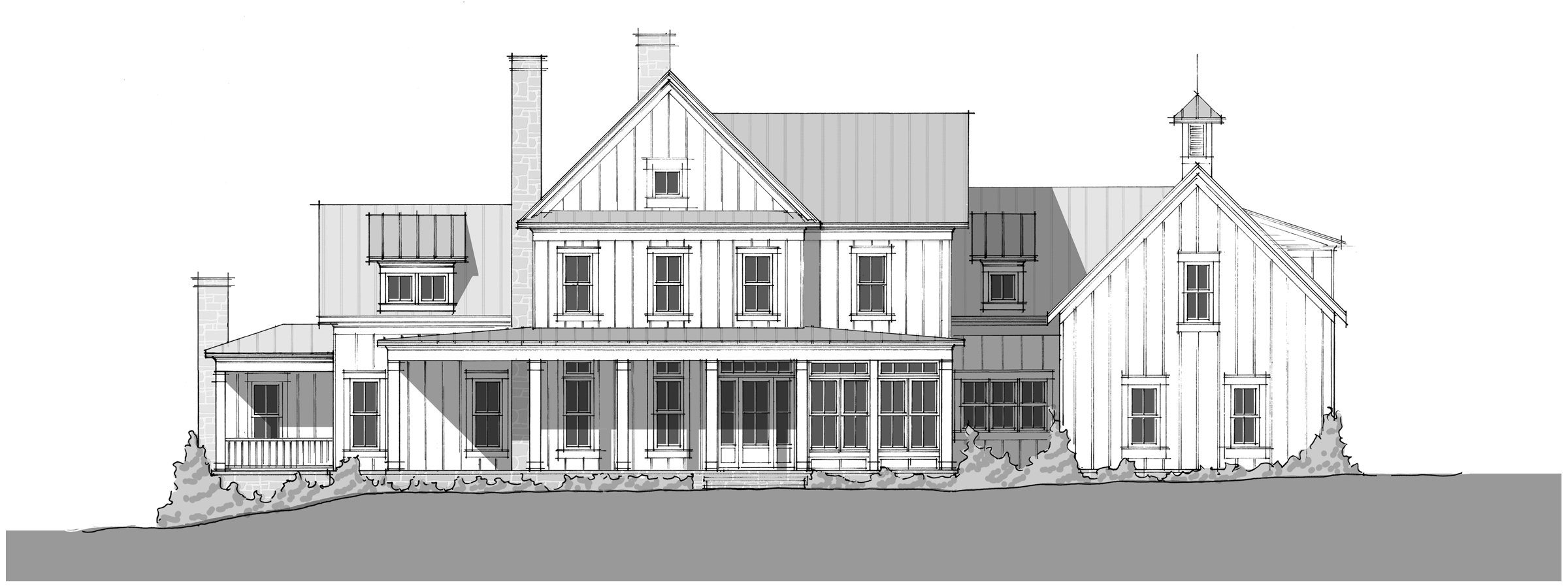 Mint Springs - Front Elevation_2400