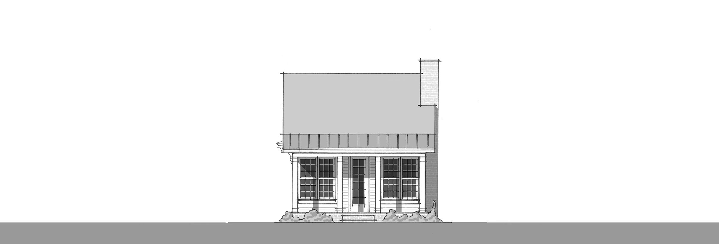 Cates Creek - Front Elevation_2400