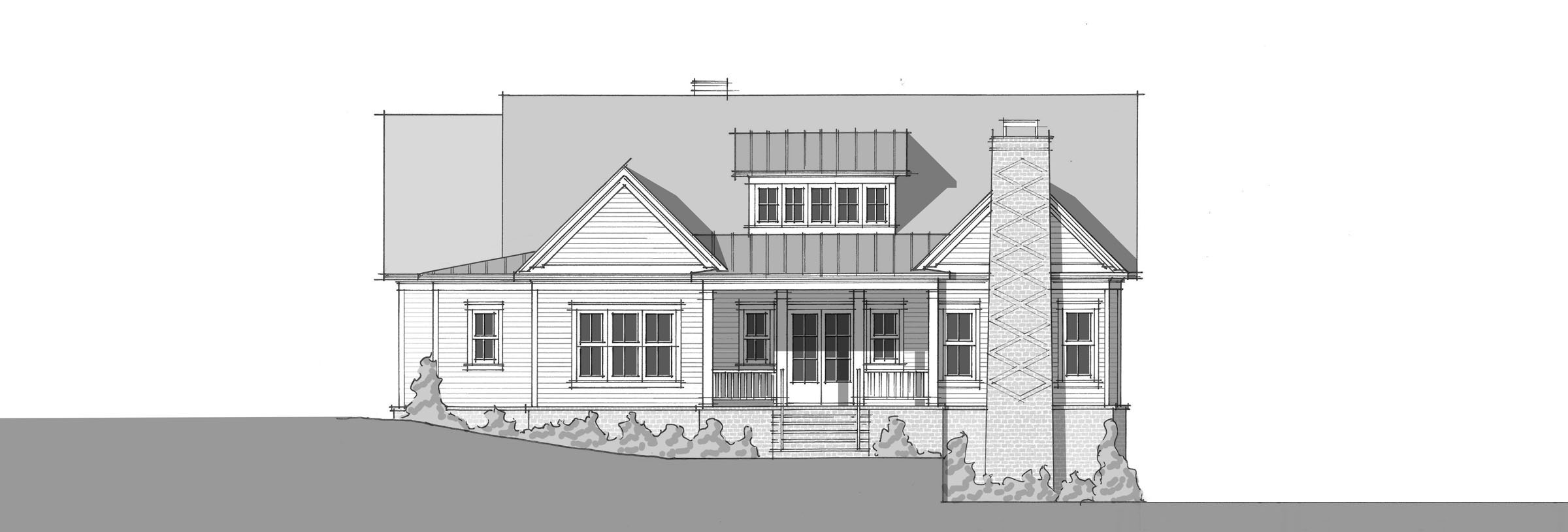 Spring Hollow _front elevation_2400