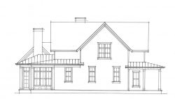 Old Mill Farmhouse - left elevation