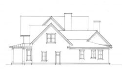 Old Mill Farmhouse - right elevation