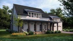 Summertime Farmhouse - Rendering